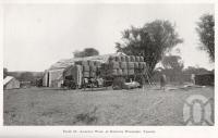 "<span class=""caption-caption"">Loading wool at Kinnoul Woolshed, Taroom</span>. <br />From <span class=""caption-book"">Queensland Agricultural Journal</span>, 1912, collection of <span class=""caption-contributor"">Fryer Library, UQ</span>."