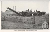 "<span class=""caption-caption"">Threshing from the stook, Nobby, Darling Downs</span>. <br />From <span class=""caption-book"">Queensland Agricultural Journal</span>, 1922, collection of <span class=""caption-contributor"">Fryer Library, UQ</span>."