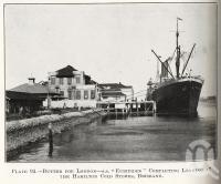 "<span class=""caption-caption"">Butter for London, SS Euripides completing loading at the Hamilton Cold Stores</span>. <br />From <span class=""caption-book"">Queensland Agricultural Journal</span>, 1926, collection of <span class=""caption-contributor"">Fryer Library, UQ</span>."