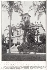 "<span class=""caption-caption"">The home of Sir John and Lady Goodwin, Paddington</span>. <br />From <span class=""caption-book"">Queensland Agricultural Journal</span>, 1928, collection of <span class=""caption-contributor"">Fryer Library, UQ</span>."