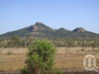 "<span class=""caption-caption"">Mountain range outside Stanwell</span>, 2009. <br />Digital image, collection of <span class=""caption-contributor"">Centre for the Government of Queensland MS</span>."