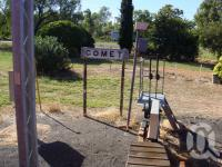 "<span class=""caption-caption"">Comet railways station</span>, 2009. <br />Digital image, collection of <span class=""caption-contributor"">Centre for the Government of Queensland MS</span>."