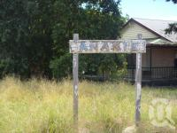 "<span class=""caption-caption"">Anakie railway station sign</span>, 2009. <br />Digital image, collection of <span class=""caption-contributor"">Centre for the Government of Queensland MS</span>."