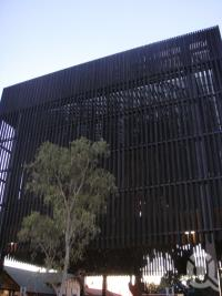 "<span class=""caption-caption"">Tree of Knowledge Memorial, Barcaldine</span>, 2009. <br />Digital image, collection of <span class=""caption-contributor"">Centre for the Government of Queensland MS</span>."