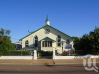 "<span class=""caption-caption"">Longreach Uniting Church</span>, 2009. <br />Digital image, collection of <span class=""caption-contributor"">Centre for the Government of Queensland MS</span>."