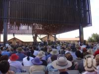 "<span class=""caption-caption"">Premier Anna Bligh opens Tree of Knowledge Memorial, Barcaldine, 2 May</span>, 2009. <br />Digital image, collection of <span class=""caption-contributor"">Centre for the Government of Queensland MS</span>."