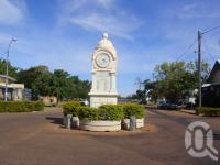 "<span class=""caption-caption"">War memorial clock, Barcaldine</span>, 2009. <br />Digital image, collection of <span class=""caption-contributor"">Centre for the Government of Queensland MS</span>."