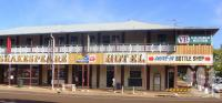 "<span class=""caption-caption"">Shakespeare Hotel, Barcaldine</span>, 2009. <br />Digital image, collection of <span class=""caption-contributor"">Centre for the Government of Queensland MS</span>."