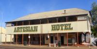 "<span class=""caption-caption"">Artesian Hotel, Barcaldine</span>, 2009. <br />Digital image, collection of <span class=""caption-contributor"">Centre for the Government of Queensland MS</span>."