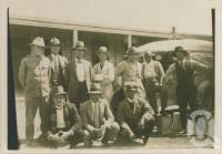 "<span class=""caption-caption"">Hughenden racegoers, bookies and clerks, Tangorin races. Hughenden ambulance at right</span>, c1930. <br />Digital image, collection of <span class=""caption-contributor"">Megan Young</span>."