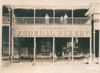 "<span class=""caption-caption"">J. Spearritt Federal Bakery, Cooktown</span>, 1902. <br />Digital image, collection of <span class=""caption-contributor"">Centre for the Government of Queensland</span>."