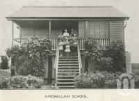 "<span class=""caption-caption"">Airdmillan School</span>, 1939. <br />Newspaper, collection of <span class=""caption-contributor"">John Young</span>."
