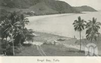 "<span class=""caption-caption"">Bingil Bay, Tully</span>, 1940. <br />Newspaper, collection of <span class=""caption-contributor"">John Young</span>."