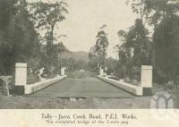 "<span class=""caption-caption"">Tully - Jarra Creek Road</span>, 1940. <br />Newspaper, collection of <span class=""caption-contributor"">John Young</span>."