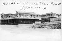 "<span class=""caption-caption"">Haskin's Ocean View Flats, Yeppoon</span>, c1930s-c1940s. <br />Photographic collection, <span class=""caption-contributor"">Queensland State Archives</span>."