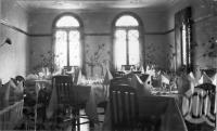 "<span class=""caption-caption"">Dining Room, Grand Hotel, Atherton</span>, c1930s-c1940s. <br />Photographic collection, <span class=""caption-contributor"">Queensland State Archives</span>."