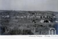 "<span class=""caption-caption"">Marburg township</span>, date unknown. <br />Photograph, collection of <span class=""caption-contributor"">Mobsby Collection, Fryer Library, UQ</span>."