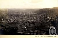 "<span class=""caption-caption"">View of Esk from Mount Esk</span>, date unknown. <br />Photograph, collection of <span class=""caption-contributor"">Mobsby Collection, Fryer Library, UQ</span>."