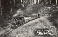"<span class=""caption-caption"">Rounding the curve', Buderim Mountain</span>, date unknown. <br />Photograph, collection of <span class=""caption-contributor"">Mobsby Collection, Fryer Library, UQ</span>."