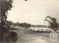 "<span class=""caption-caption"">River Road, Toowong</span>, 1905. <br />Photograph, collection of <span class=""caption-contributor"">JC Smith Collection, Fryer Library, UQ</span>."
