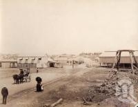 "<span class=""caption-caption"">Queenton, 2 miles from Charters Towers</span>, 1890. <br />Photograph, collection of <span class=""caption-contributor"">Richardson Collection, Fryer Library, UQ</span>."