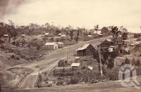 "<span class=""caption-caption"">Herberton Showing Port Douglas Road</span>, 1891. <br />Photograph, collection of <span class=""caption-contributor"">Richardson Collection, Fryer Library, UQ</span>."
