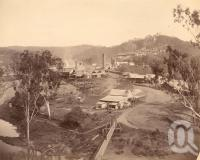"<span class=""caption-caption"">Mount Morgan</span>, 1891. <br />Photograph, collection of <span class=""caption-contributor"">Richardson Collection, Fryer Library, UQ</span>."