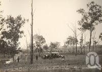 "<span class=""caption-caption"">Upper Burnett, view near Mulgeldie (Mulgildie)</span>, 1921-1922. <br />Photograph, collection of <span class=""caption-contributor"">Gillies Collection, Fryer Library, UQ</span>."