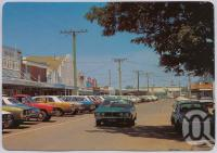 "<span class=""caption-caption"">Callide Street, Biloela</span>, c1970-2000. <br />Postcard, collection of <span class=""caption-contributor"">Murray Views Collection</span>."