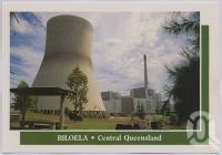 "<span class=""caption-caption"">Callide B Power Station, Biloela</span>, c1970-2000. <br />Postcard, collection of <span class=""caption-contributor"">Murray Views Collection</span>."