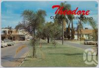 "<span class=""caption-caption"">Theodore Shopping Centre, Dawson - Callide Valley</span>, c1970-2000. <br />Postcard, collection of <span class=""caption-contributor"">Murray Views Collection</span>."