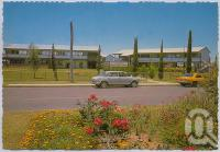 "<span class=""caption-caption"">Biloela State High School, Biloela</span>, c1970-2000. <br />Postcard, collection of <span class=""caption-contributor"">Murray Views Collection</span>."
