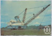 "<span class=""caption-caption"">Utah Dragline, Blackwater</span>, c1970-2000. <br />Postcard, collection of <span class=""caption-contributor"">Murray Views Collection</span>."