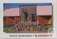 "<span class=""caption-caption"">Tribute Statue, Blackwater</span>, c1970-2000. <br />Postcard, collection of <span class=""caption-contributor"">Murray Views Collection</span>."