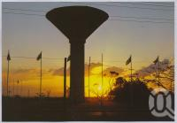 "<span class=""caption-caption"">Water Tower, Blackwater</span>, c1970-2000. <br />Postcard, collection of <span class=""caption-contributor"">Murray Views Collection</span>."