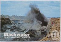 "<span class=""caption-caption"">Blasting Overburden, Blackwater</span>, c1970-2000. <br />Postcard, collection of <span class=""caption-contributor"">Murray Views Collection</span>."