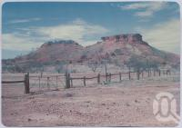 "<span class=""caption-caption"">Cawnpore Hills, Boulia</span>, c1970-2000. <br />Postcard, collection of <span class=""caption-contributor"">Murray Views Collection</span>."