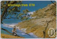 """<span class=""""caption-caption"""">Rock Formation, Town of 1770</span>, c1970-2000. <br />Postcard, collection of <span class=""""caption-contributor"""">Murray Views Collection</span>."""