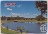 "<span class=""caption-caption"">Centenary Lakes, Caboolture</span>, c1970-2000. <br />Postcard, collection of <span class=""caption-contributor"">Murray Views Collection</span>."