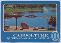 "<span class=""caption-caption"">Centenary Lakes, Apex Park, Caboolture</span>, c1970-2000. <br />Postcard, collection of <span class=""caption-contributor"">Murray Views Collection</span>."
