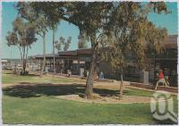 "<span class=""caption-caption"">Shopping Centre, Moranbah</span>, c1970-2000. <br />Postcard, collection of <span class=""caption-contributor"">Murray Views Collection</span>."