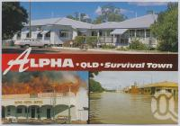 "<span class=""caption-caption"">Survival Town, Alpha</span>, c1970-2000. <br />Postcard, collection of <span class=""caption-contributor"">Murray Views Collection</span>."