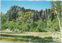"<span class=""caption-caption"">Royal Arch Bluff, Chillagoe</span>, c1970-2000. <br />Postcard, collection of <span class=""caption-contributor"">Murray Views Collection</span>."