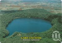 "<span class=""caption-caption"">Aerial view, Lake Eacham, Atherton Tableland</span>, c1970-2000. <br />Postcard, collection of <span class=""caption-contributor"">Murray Views Collection</span>."