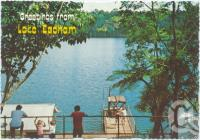 "<span class=""caption-caption"">Lake Eacham, Atherton Tableland</span>, c1970-2000. <br />Postcard, collection of <span class=""caption-contributor"">Murray Views Collection</span>."