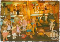 "<span class=""caption-caption"">Doll Museum, Dalby</span>, c1970-2000. <br />Postcard, collection of <span class=""caption-contributor"">Murray Views Collection</span>."