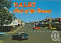 "<span class=""caption-caption"">Main street by day, Dalby</span>, c1970-2000. <br />Postcard, collection of <span class=""caption-contributor"">Murray Views Collection</span>."