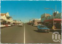"<span class=""caption-caption"">Cunningham Street, Dalby</span>, c1970-2000. <br />Postcard, collection of <span class=""caption-contributor"">Murray Views Collection</span>."