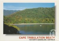 "<span class=""caption-caption"">The peace and tranquility of Cape Tribulation Beach, in the morning light</span>, c1970-2000. <br />Postcard, collection of <span class=""caption-contributor"">Murray Views Collection</span>."