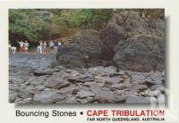 "<span class=""caption-caption"">The Bouncing Stones, Thornton Beach, Cape Tribulation</span>, c1970-2000. <br />Postcard, collection of <span class=""caption-contributor"">Murray Views Collection</span>."